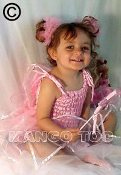 Baby-Toddler Pink Fairy Dress