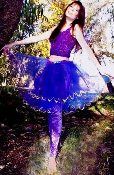 Teen and Woman's Fairy Glitter Tutu Skirt-Two Colors